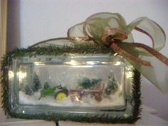 Making Lighted Glass Blocks | How to Make a Lighted Glass Blocks with Miniature Scenes | Bizcovering