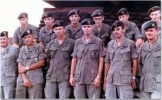 U.S. Army Special Forces, the Green Berets in Vietnam. The original Snake Eaters