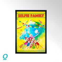 It is all about creating memories these days with family clicking selfie's. This digital wall art adds a hint of fun to your home decor speaking about you and your family. Let your guests know the fun times they can expect in your home. #onlineshopping #sale #discount #handcraftedhappiness #MakeInIndia