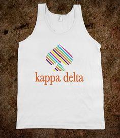 Kappa Delta Kate Spade Tank