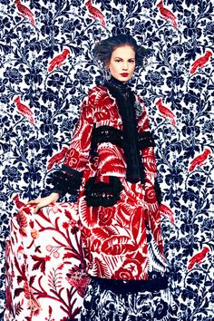 Harper's Bazaar March 2014: Prints of the Season