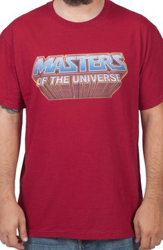 Masters Of The Universe Logo Shirt