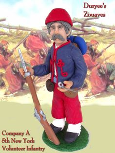 Duryee's Zouaves  Company A, New York Volunteer Infantry  $50.00
