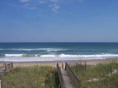 Topsail Beach, North Carolina in 2009 by Catherine Wilson