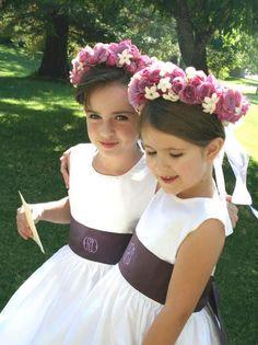 Isabel Garreton has unveiled her 2015 flower girl dress collection.
