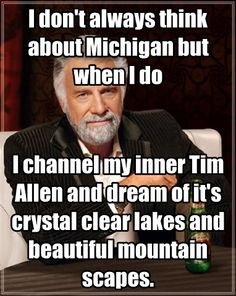 Pure Michigan commercial parody.