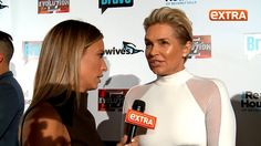 Extra's Renee Bargh caught up with Yolanda Foster at The Real Housewives of Beverly Hills season six premiere where she explained that she wants to 'mourn' the end of her marriage to David Foster privately.