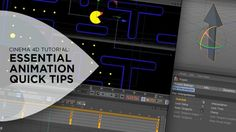 """In this tutorial I'll be sharing some quick tips to help you be a better animator in Cinema 4D. For those of you coming from After Effects, I'll relate some of the important animation techniques you probably use very often in After Effects and how they can be done in Cinema 4D.  Topics covered in this tutorial are:  Gimbal Lock: What It Is & How to Avoid It Quaternion Expression Overdub Align to Path Tag Creating """"Roving Keyframes"""" with the Constant Velocity Function How to Loop/Rep..."""