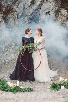 Pagan Wedding, Lgbt Wedding, Forest Wedding, Wedding Shoot, Wedding Attire, Wedding Menu, Wedding Wishes, Friend Wedding, Lesbian Wedding Photography