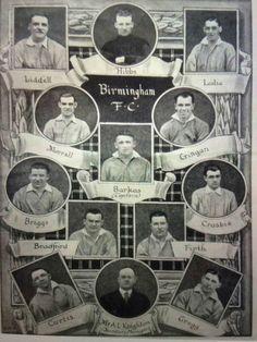 Birmingham City team photos for the 1931 FA Cup Final.