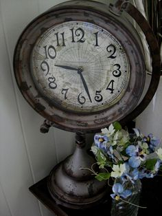 I have such a love for old clocks!