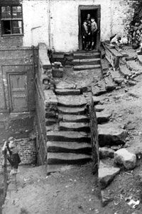 stairs in north shields which possibly date back to the Old Pictures, Old Photos, North Shields, Somewhere In Time, North East England, Black N White Images, Local History, Historical Pictures, British Isles