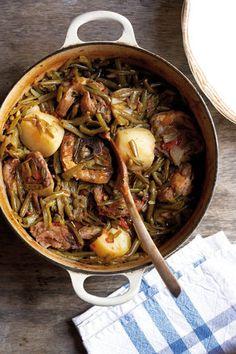 Groenboontjie-bredie | SARIE | Green bean stew