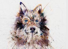 dave white art wolf Artist | Dave White