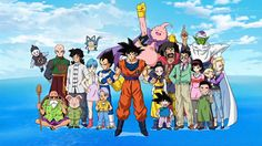 Anime Dragon Ball Super  Piccolo (Dragon Ball) Android 18 (Dragon Ball) Krillin (Dragon Ball) Marron (Dragon Ball) Videl (Dragon Ball) Gohan (Dragon Ball) Buu (Dragon Ball) Satan (Dragon Ball Z) Chichi (Dragon Ball) Goku Goten (Dragon Ball) Vegeta (Dragon Ball) Trunk (Dragon Ball) Bulma (Dragon Ball) Oolong (Dragon Ball) Master Roshi (Dragon Ball) Tien Shinhan (Dragon Ball) Chiaotzu (Dragon Ball) Yamcha (Dragon Ball) Puar (Dragon Ball) Wallpaper