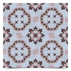 Moroccan Mosaic Tile House Kasba Handmade x Cement Field Tile in Pink/Brown Marble Mosaic, Mosaic Tiles, Cool Diy Projects, Projects To Try, Moroccan Bathroom, Home Design Diy, Wood Look Tile, Handmade Tiles, Decorative Tile