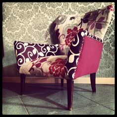up-cycled armchair