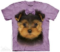 Yorkshire Terrier Puppy T-Shirt at theBIGzoo.com, an animal-themed superstore.