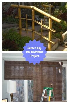 Top DIY Bamboo Ideas #bamboodecor Bamboo Crafts, Bamboo Ideas, Diy And Crafts, Easy Diy, Pergola, Diy Projects, Outdoor Structures, Amazing, Creative