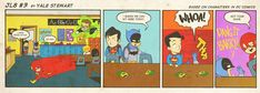 JL8 #3 by Yale StewartBased on characters in DC Comics. Creative content © Yale Stewart. Like the Facebook pagehere!