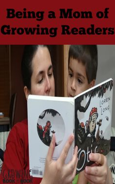 Being a Mom of Growing Readers - book tips for birth to age 3 from Growing Book by Book