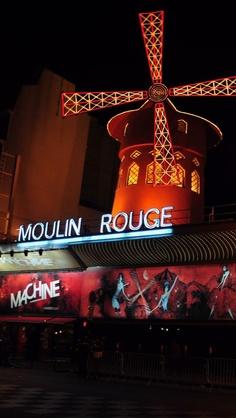 Moulin Rouge night view...LOVE IT XO$