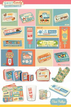 Ideas for vintage art prints food