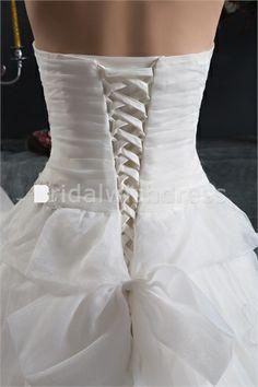 pear shaped wedding dresses | Pear A-Line Sweetheart Court Train Satin Reception Wedding Dresses 003