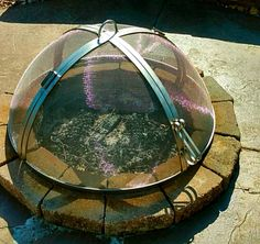 Metal Fire Pit Covers Conical Shaped Fire Pit Covers 6