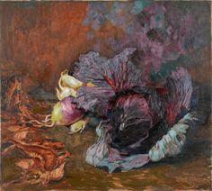 4N10140.JPG (600×540)Frantisek Kupka Opocno (Autriche-Hongrie), 1871 - Puteaux (Hauts-de-Seine), 1957 © Adagp, Paris Frantisek KUPKA Le Chou [1906] Huile sur toile 72 x 80 cm S.B.DR. : Kupka Don d'Eugénie Kupka, 1963 Inv. : AM 4163 P