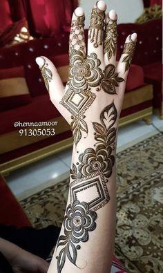 Khafif Mehndi Design, Floral Henna Designs, Latest Bridal Mehndi Designs, Mehndi Designs Book, Full Hand Mehndi Designs, Mehndi Designs 2018, Modern Mehndi Designs, Mehndi Designs For Beginners, Mehndi Designs For Girls