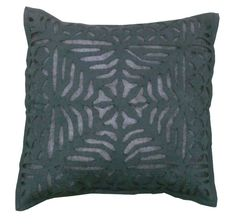 INDIAN HANDMADE EMBROIDERED CUSHION COVER PILLOW THROW CASE FOR HOME DECOR 16