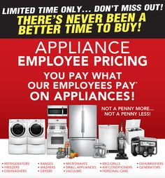 memorial day appliance sale denver