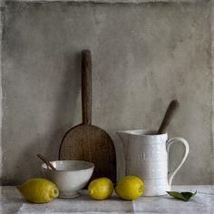 ❤ - Tineke Stoffels - Still Life With French Lemons, processing by Tineke Stoffels