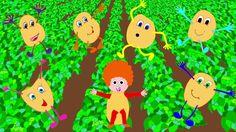 One Potato, Two Potatoes nursery rhyme, song for kids, feeling like a po...