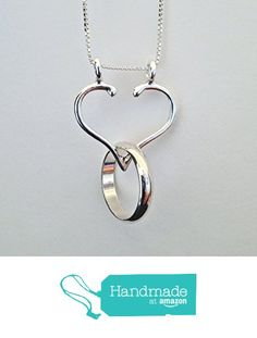 Ring Holder Necklace, Charm Holder Necklace, Five Different Designs by Ali C Art, Unique Handmade Sterling Silver Jewelry from Ali C Art http://www.amazon.com/dp/B0166G6BEK/ref=hnd_sw_r_pi_dp_DgXHwb0W8NMRF #handmadeatamazon