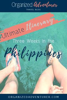 Plan your dream trip to the Philippines with this comprehensive guide and three week itinerary for traveling to remote islands, exploring the jungles, and getting a taste of all the country offers. Travel Guides, Travel Tips, Travel Destinations, Sailing Trips, Travel Organization, Philippines Travel, Family Travel, Group Travel, Travel Essentials