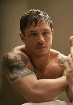 Tom Hardy in Warrior. Ok I had no idea he played in Warrior! So I will be watching it again!