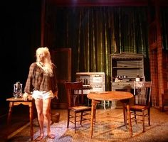 Susan Priver as Myrtle sets a new standard. The set comes to life!