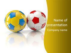 Play flag poland PowerPoint Template