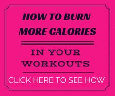 Can't believe these types of workouts actually BURN that many more CALORIES.