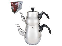 Stainless Steel Double Tea Kettle AI1125B -- Check out the image by visiting the affiliate link Amazon.com on image.