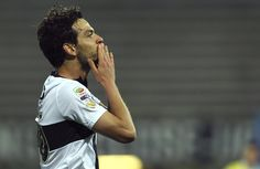 Marco Parolo of Parma FC celebrates after scoring the opening goal during the Serie A match between Parma FC and SSC Napoli at Stadio Ennio ...