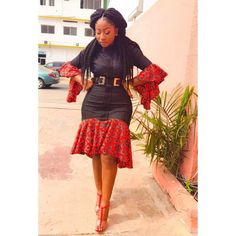 latest pictures of ankara styles - - Ladies: See 45 Pictures Of Latest Ankara Styles 2019 - photo African Fashion Ankara, Ghanaian Fashion, African Wear, African Women, African Dress, African Style, Ankara Dress Designs, Ankara Dress Styles, Trendy Ankara Styles
