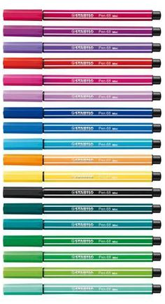 *have* Stabilo Pen 68 - I have an old wallet of 20 and have just discovered that these guys are seriously awesome for watercolouring!