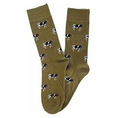 These lovely Cows on Green Socks from Tie Studio would make a fun gift to a man of the countryside. The black cows against a green. Green Socks, Black Cow, Cows, Farming, Best Gifts, Tie, Studio, How To Make, Fashion
