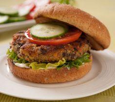 Quinoa, Bean and Vegetable Burgers