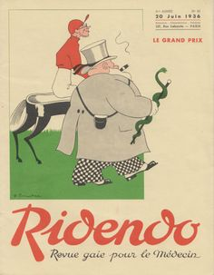 June 1936 Ridendo, from the collection of Jérôme Dubois
