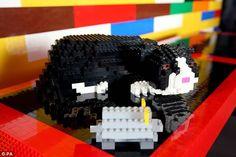Bastano 3 milioni di mattoncini di lego per costruire una villa da sogno
