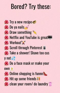 I'm so bored Diy Crafts For Home diy crafts to do when your bored at home Things To Do At A Sleepover, Fun Sleepover Ideas, Sleepover Activities, Things To Do At Home, Stuff To Do, Sleepover Party, Crafts To Do When Your Bored, What To Do When Bored, Things To Do When Bored For Teens